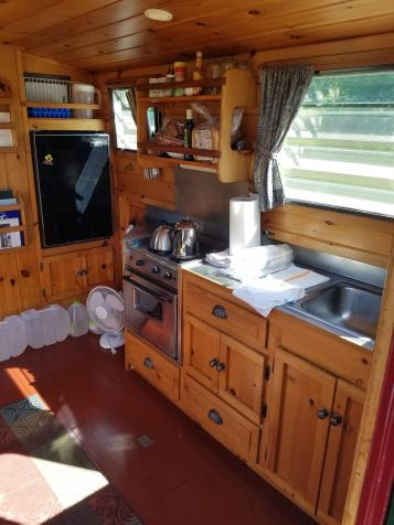 The kitchen (aka galley)