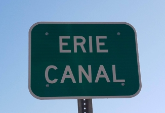 Erie Canal Street Sign