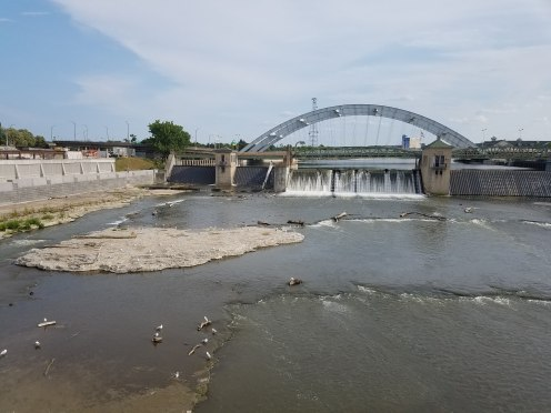 The Court Street Dam in Rochester, NY
