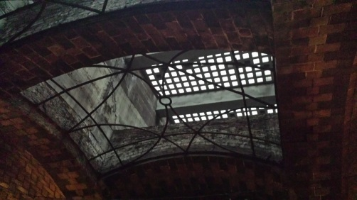 Skylight in Old City Hall Station