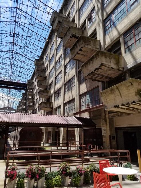 Atrium - Building B at Brooklyn Army Terminal