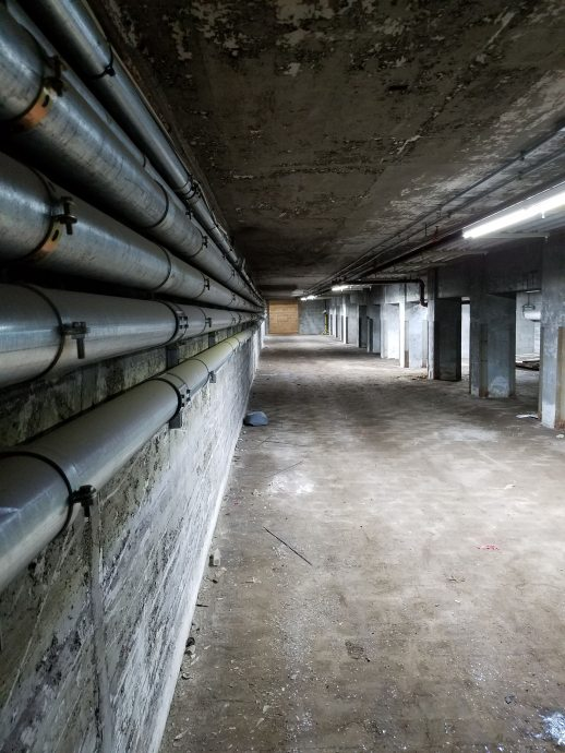 The Basement of BAT's Building A