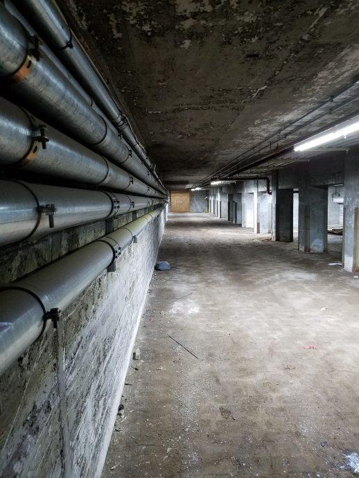 The Basement of BAT's Building A
