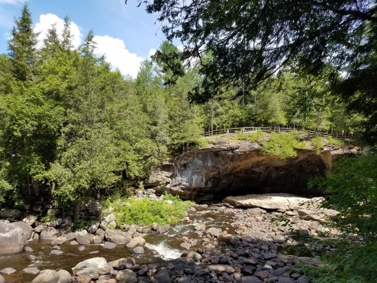 The Natural Stone Bridge and Caves