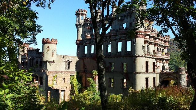 Bannerman Castle From Island