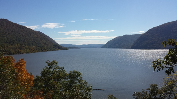 Hudson River from Bannerman's Island
