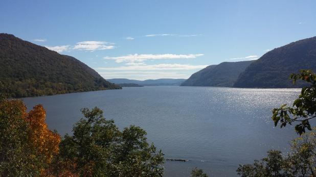 Hudson River from Bannerman's Island