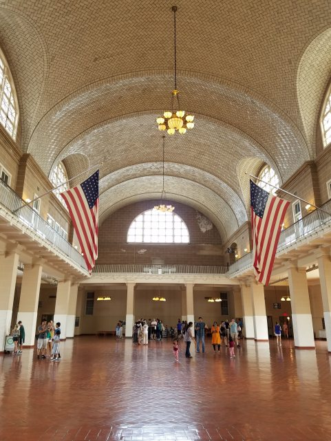 Ellis Island Great Hall
