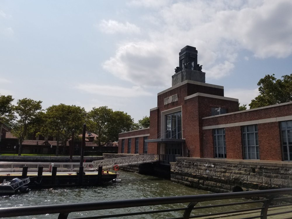 Old Ellis Island Ferry Terminal