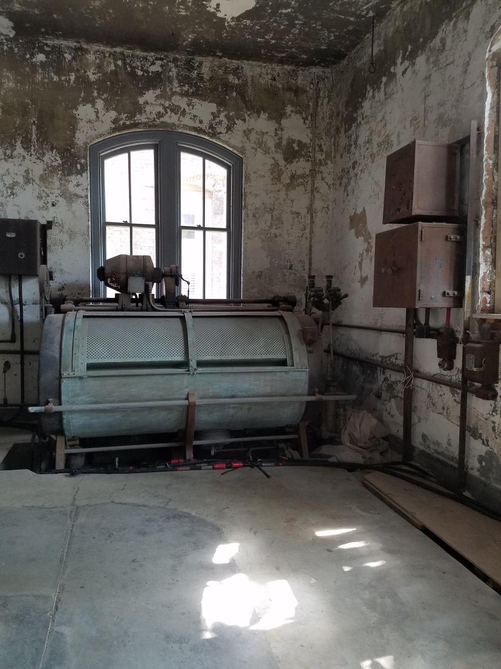 Ellis Island Laundry Room