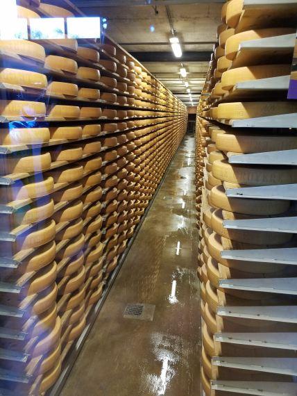 Gruyere Cheese Wheels