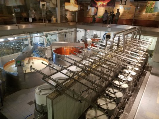 Maison du Gruyere Production Facility