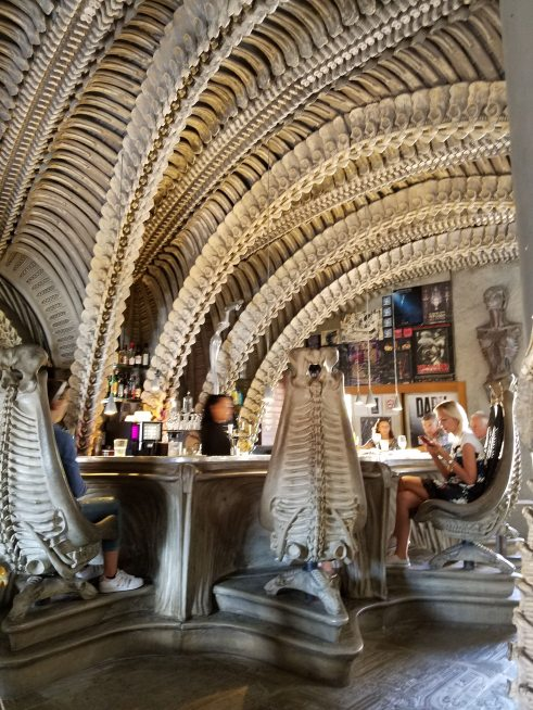H.R. Giger Museum Bar