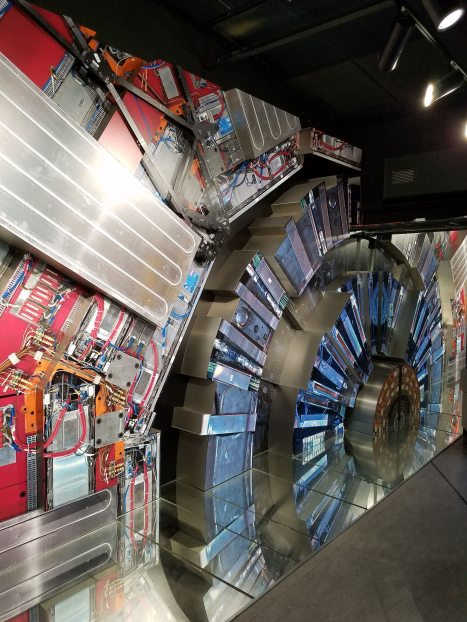 Replica of Inside of Large Hadron Collider