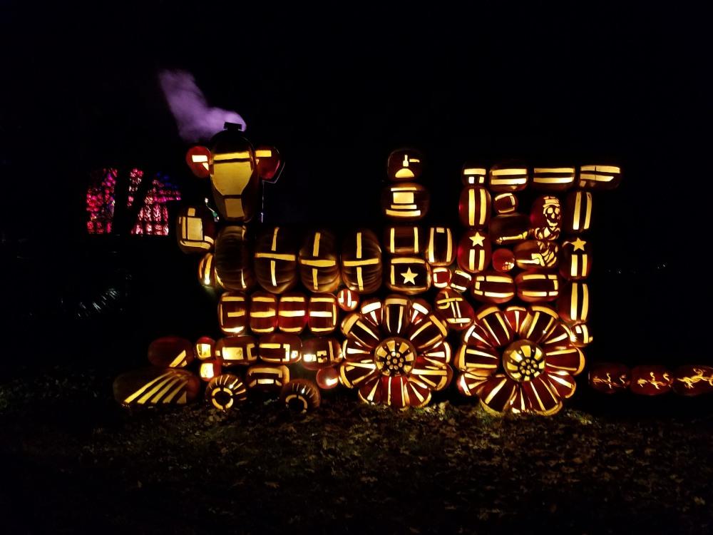 Jack O'Lantern Blaze Train