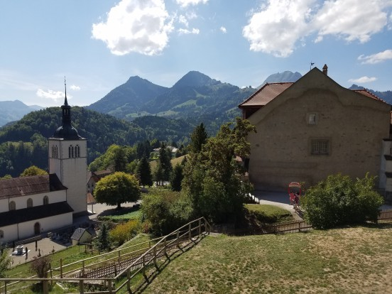The Village of Gruyeres