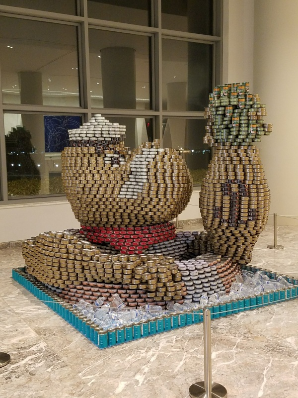 CANstruction Popeye