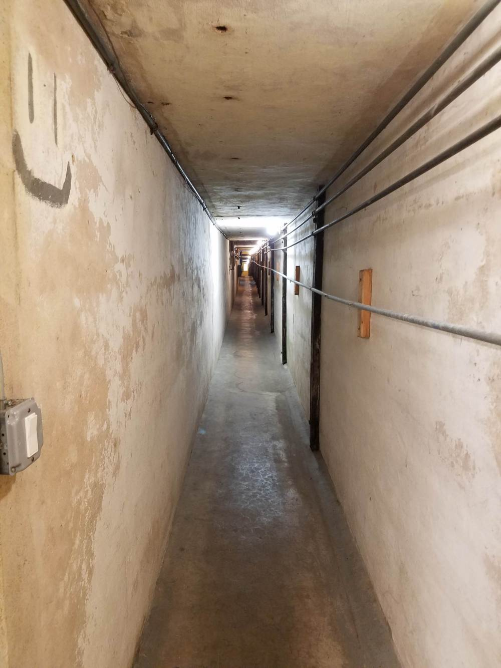Webb Institute Tunnel to Laundry Room