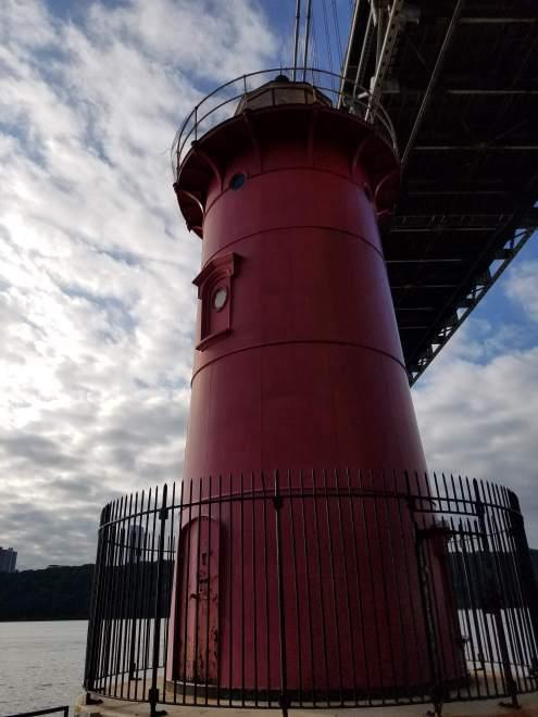 Little Red Lighthouse Closeup