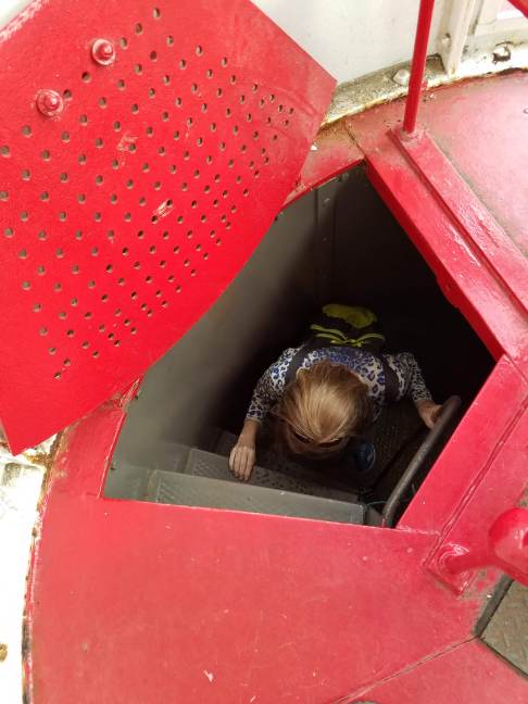 Little Red Lighthouse Trapdoor