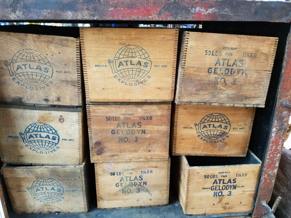 Old Explosives Crates