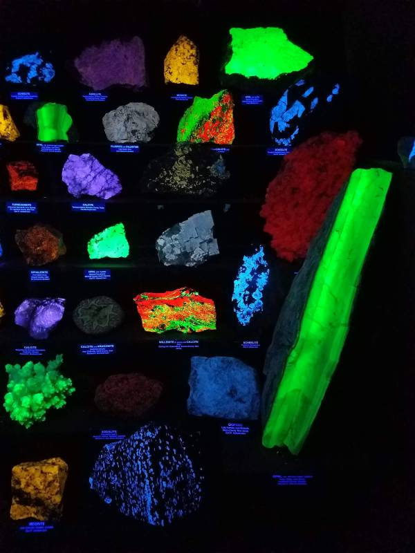 Assorted Fluorescent Rocks