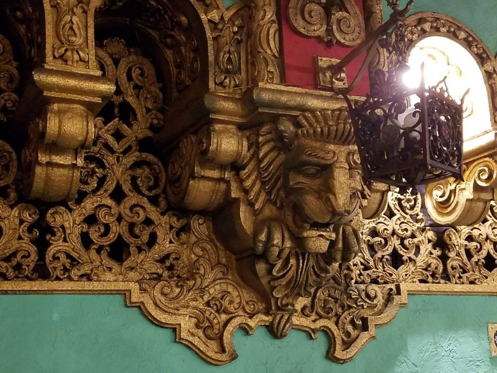 Valencia Theater Lion