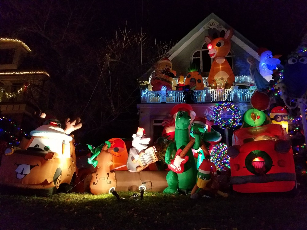 Dyker Heights Inflatable Decorations