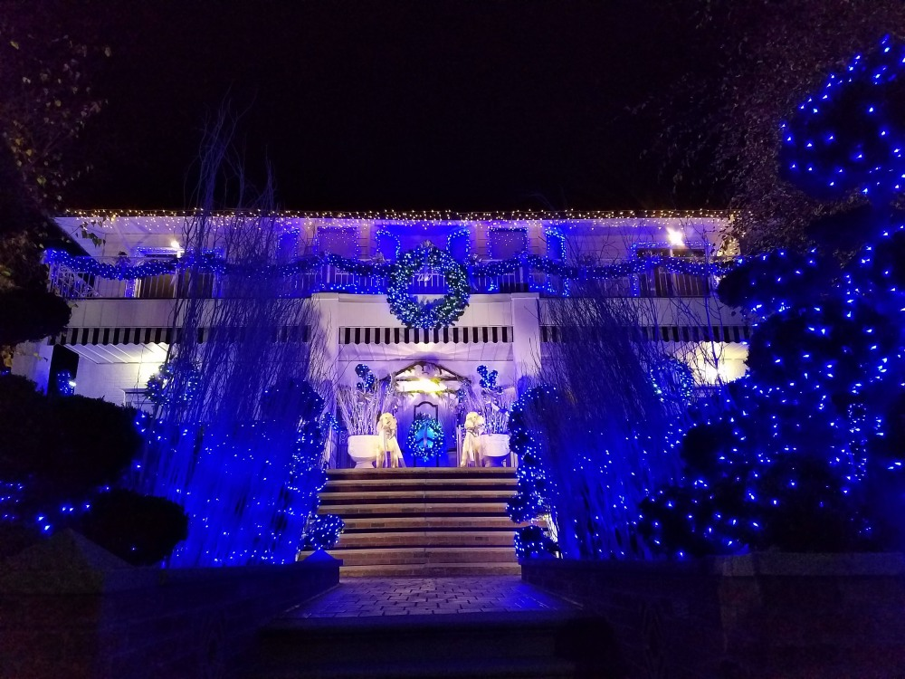 Dyker Heights Blue House