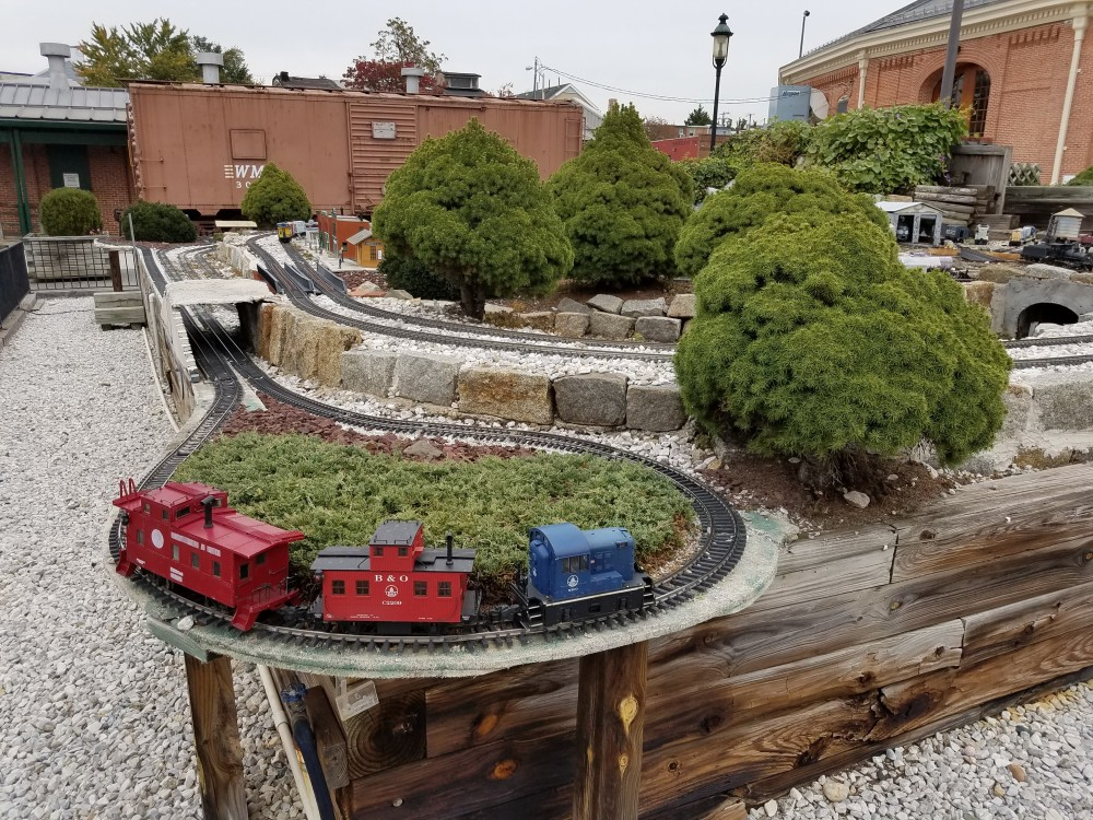 G-Scale Model Display