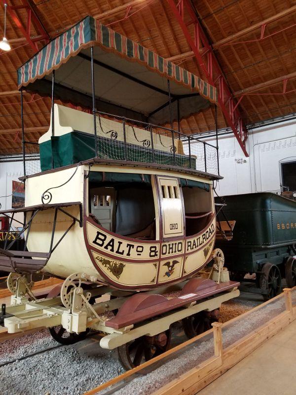 Early B&O Passenger Car