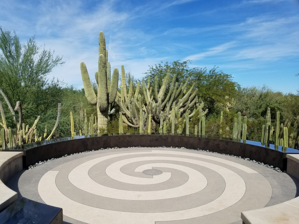 Desert Botanical Garden Fountain