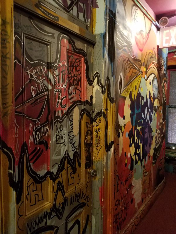 Carlton Arms Hallway