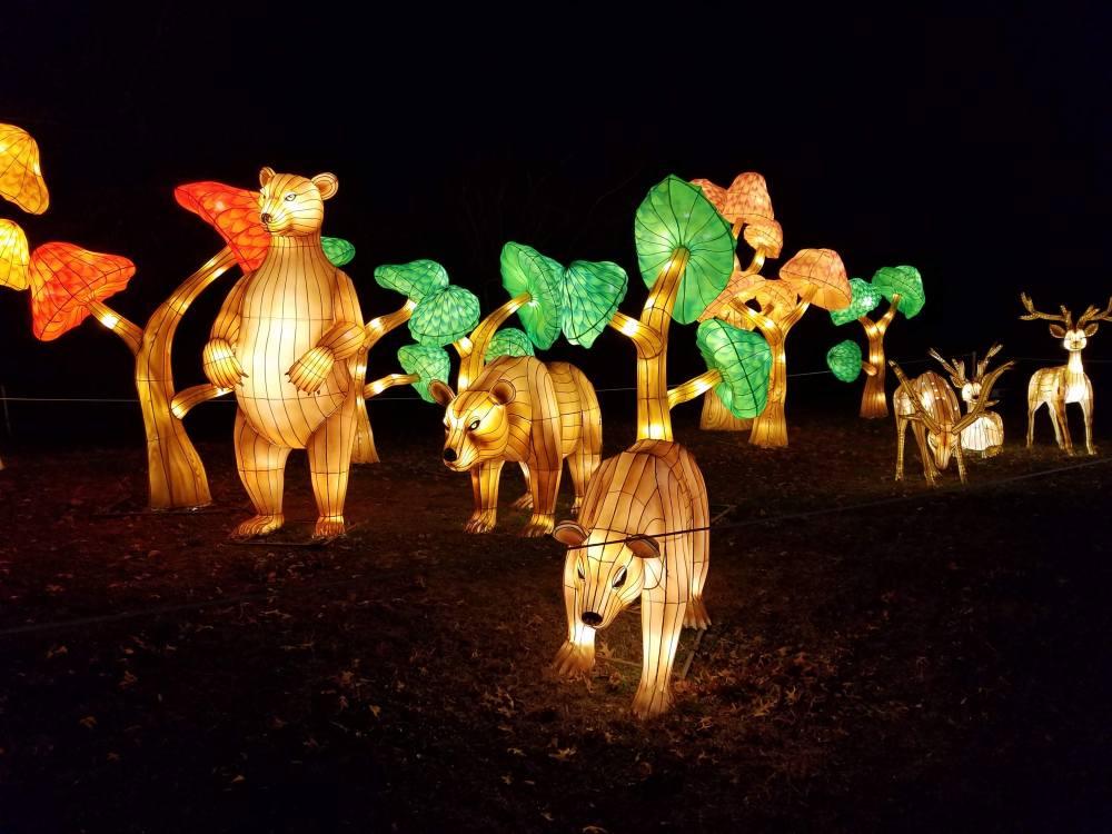Lantern Festival Bears
