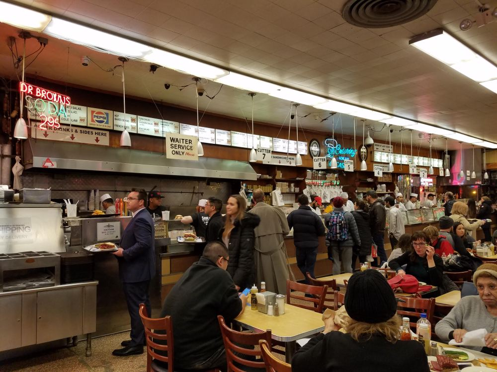 Katz's Deli Counter