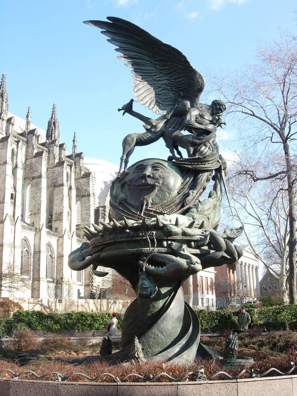 St. John the Divine Statue