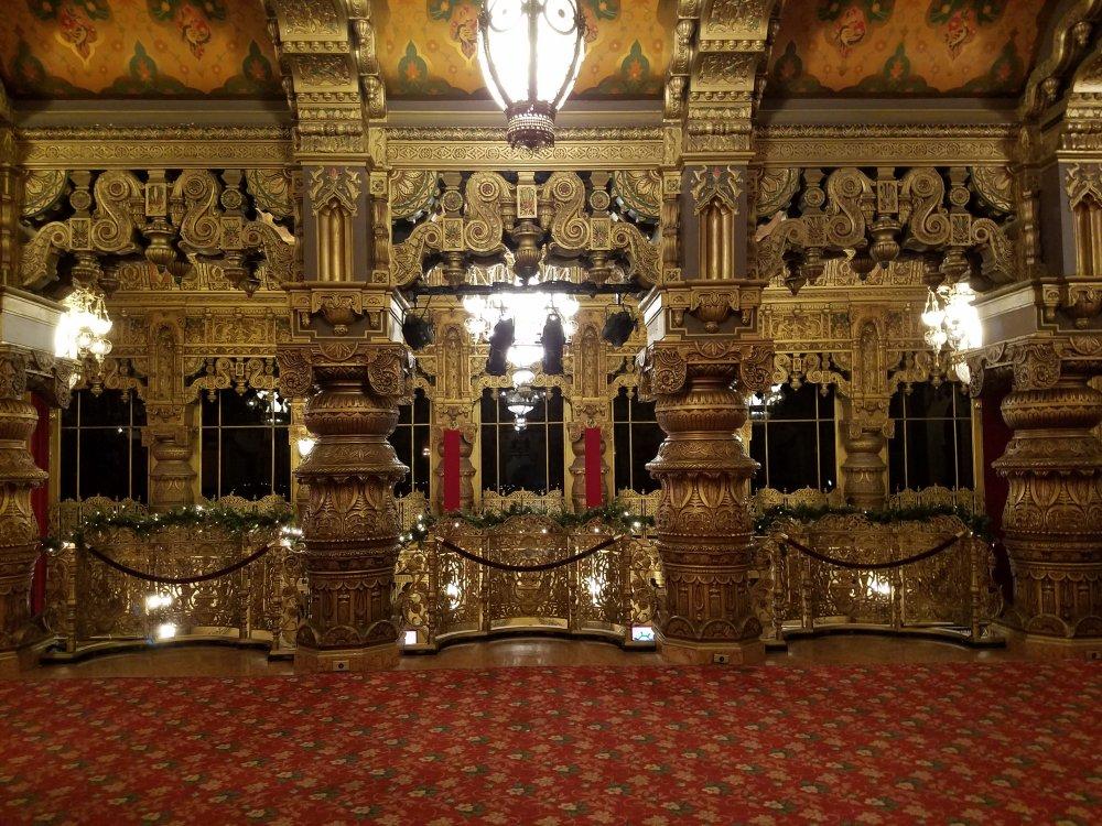 United Palace Lobby Overlook