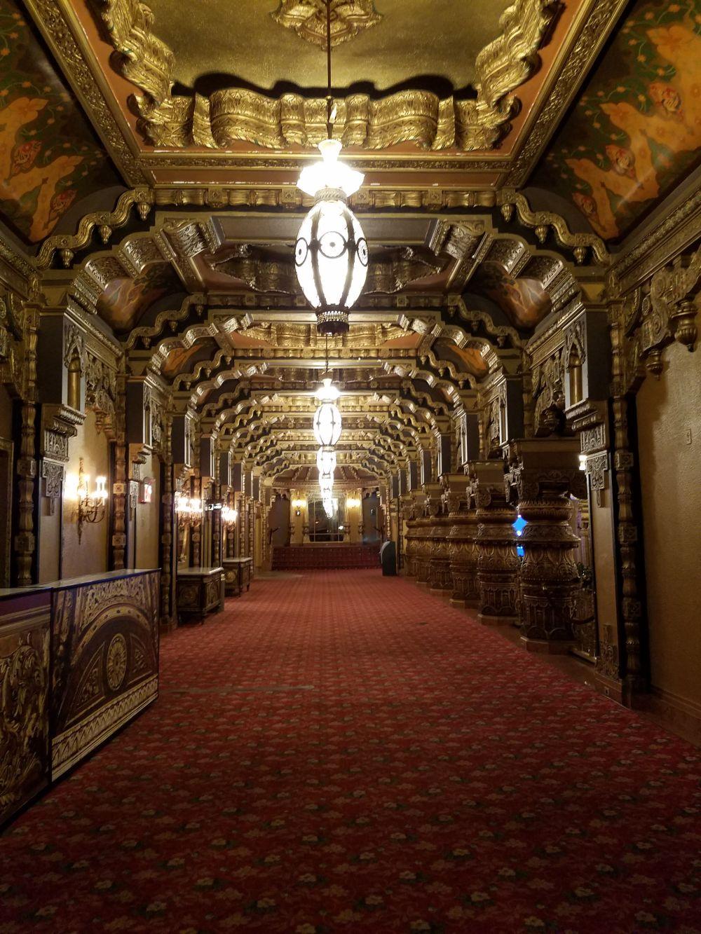 United Palace Balcony Hallway