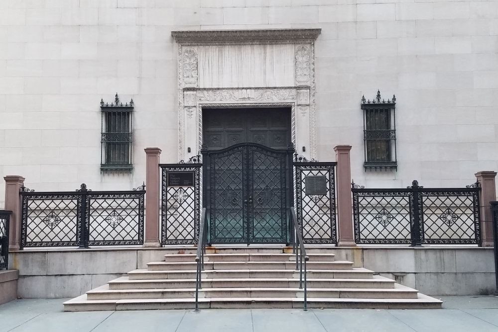 Morgan Library Original Entrance