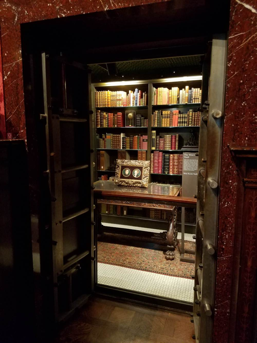 Morgan Library Study Vault