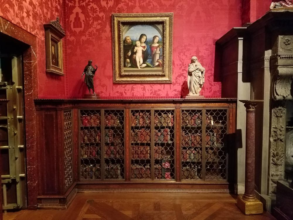 Morgan Library Study Bookcase