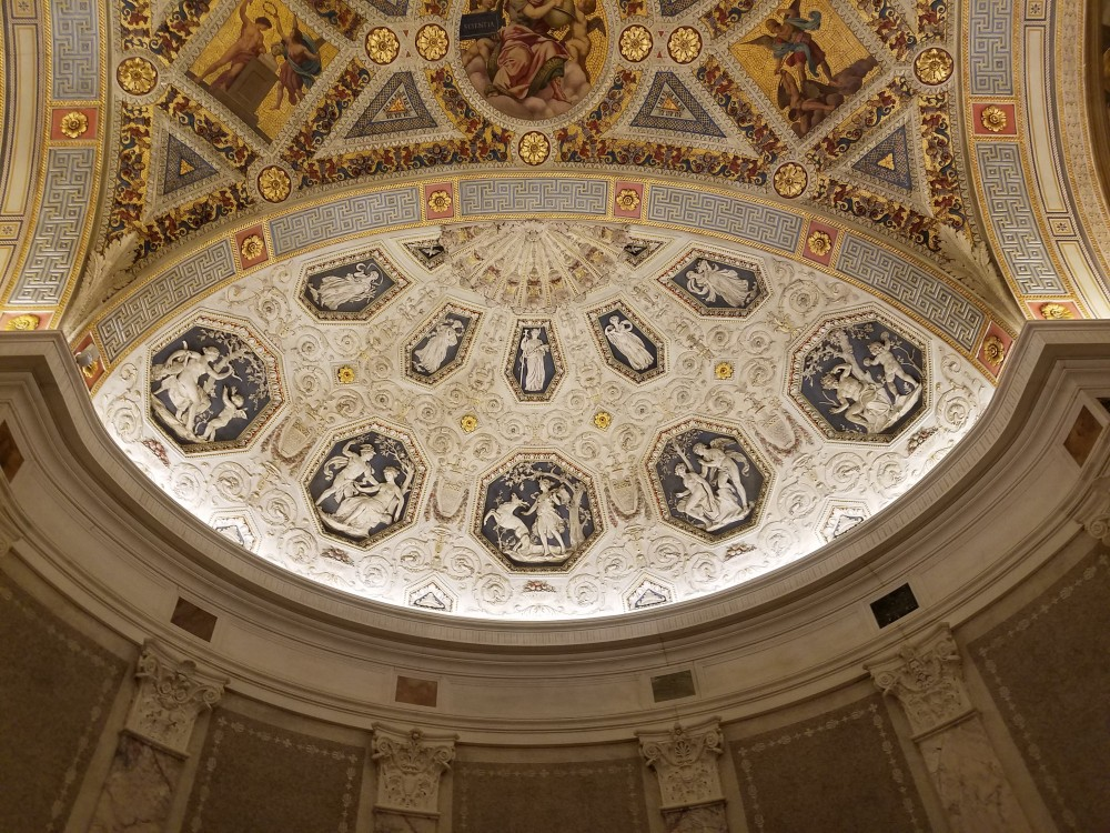 Morgan Library Rotunda Ceiling