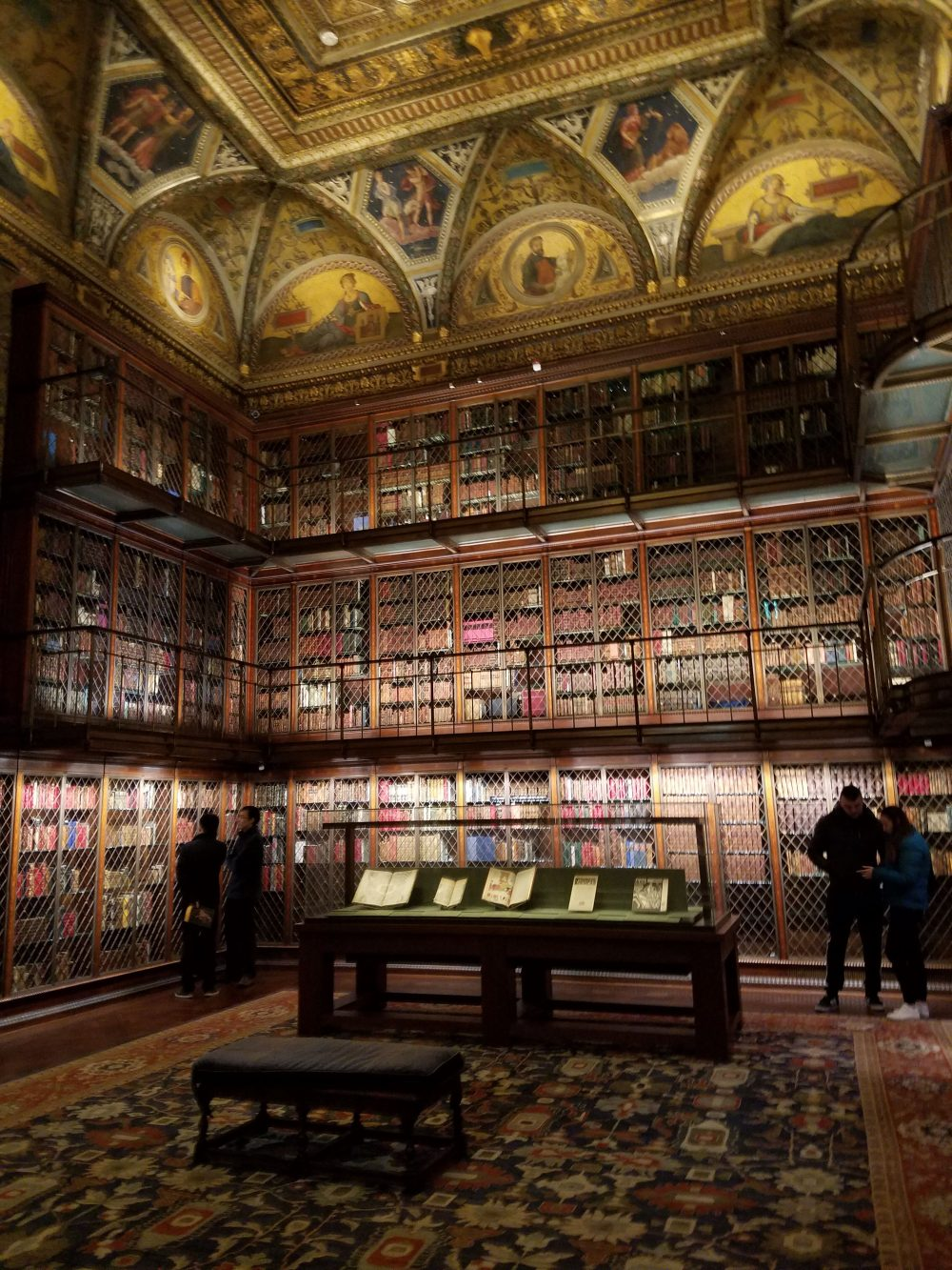 Morgan Library East Room Floor to Ceiling