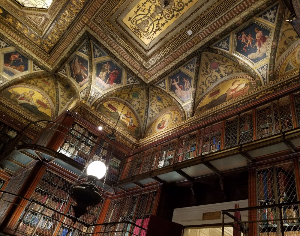 Morgan Library Ceiling and Bookcases