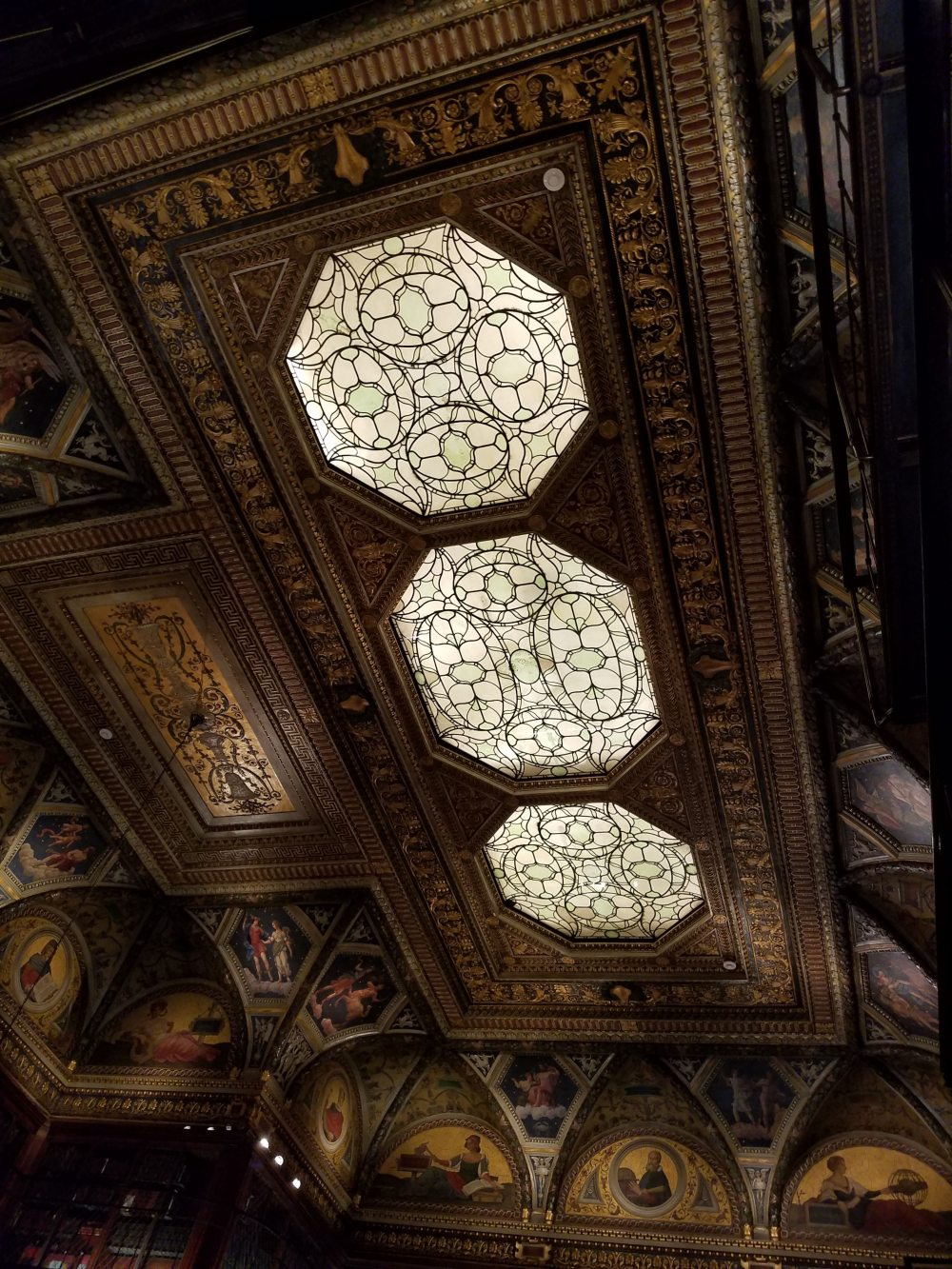 Morgan Library Skylight