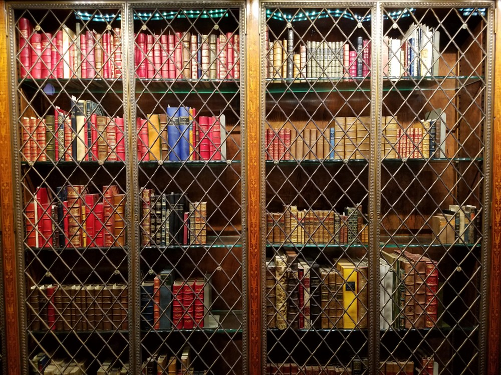 Morgan Library Bookcase