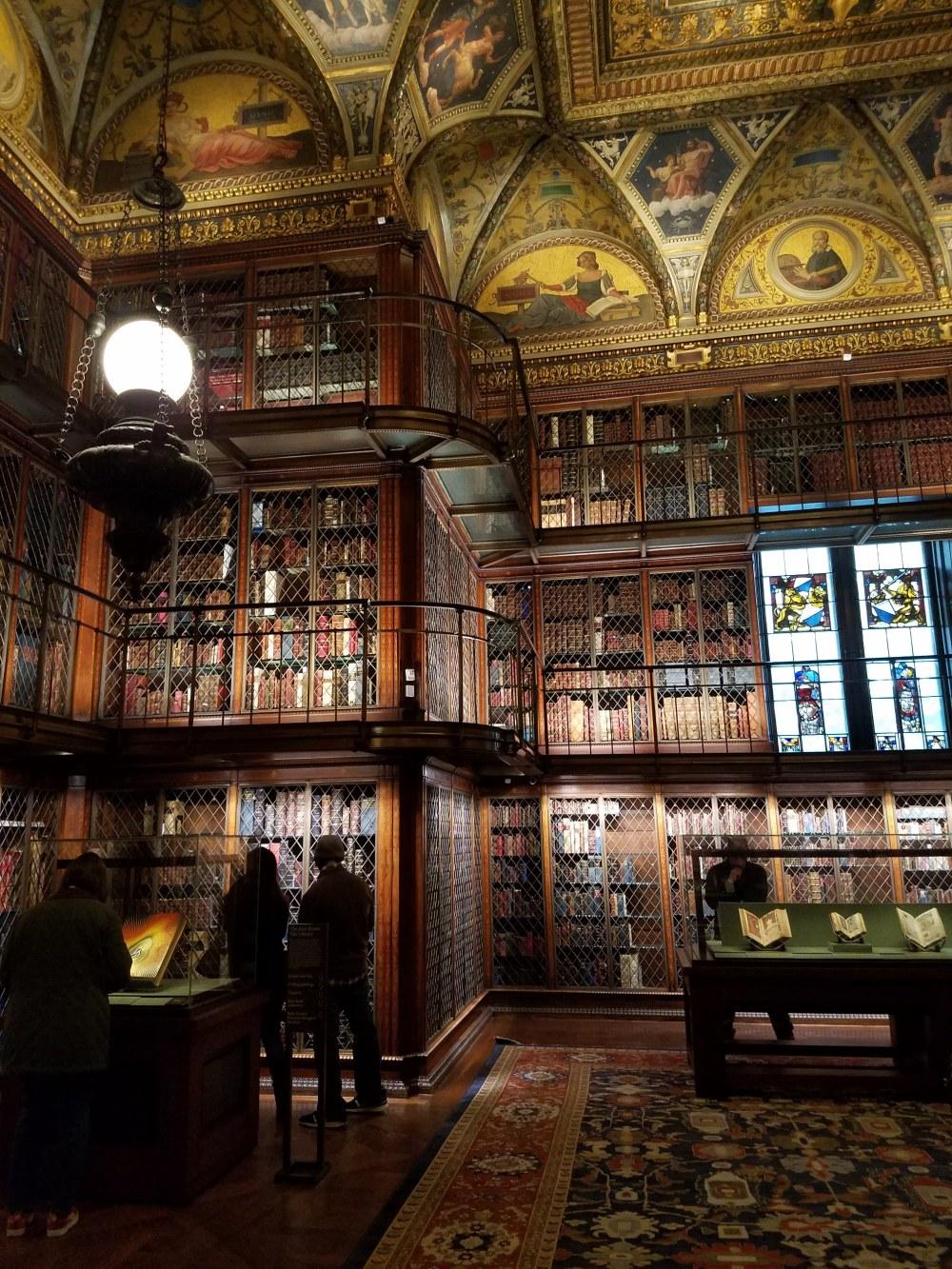 Morgan Library Corner View
