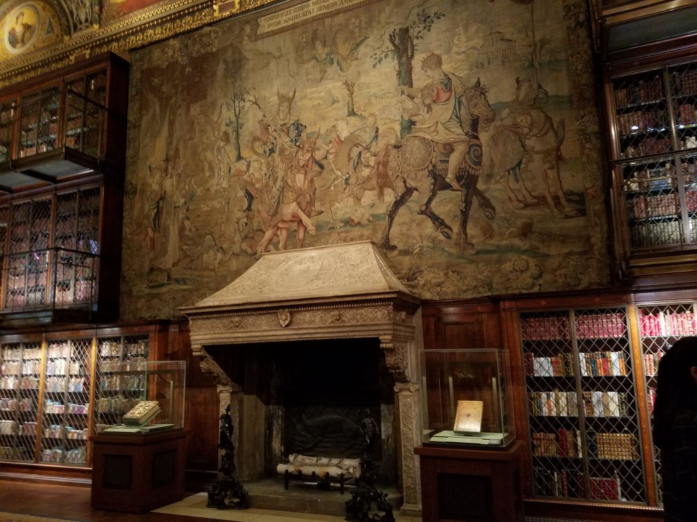 Morgan Library Tapestry