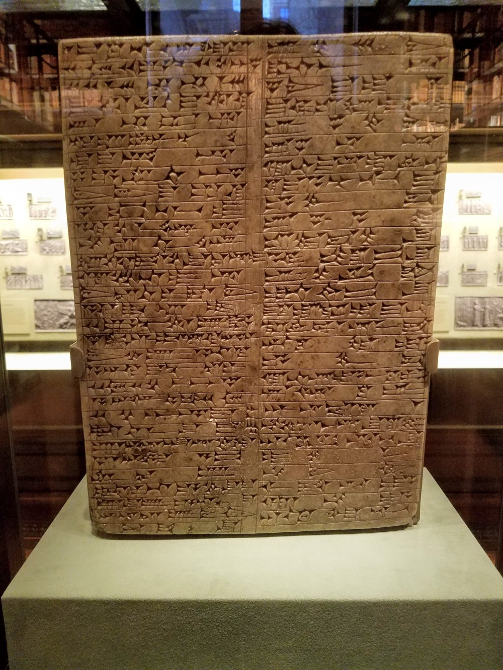 Morgan Library Tablet