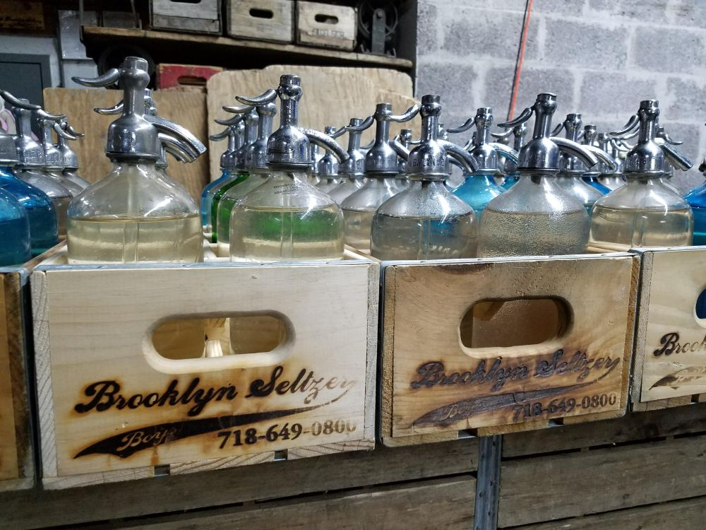 Brooklyn Seltzer Boys Filled Bottles
